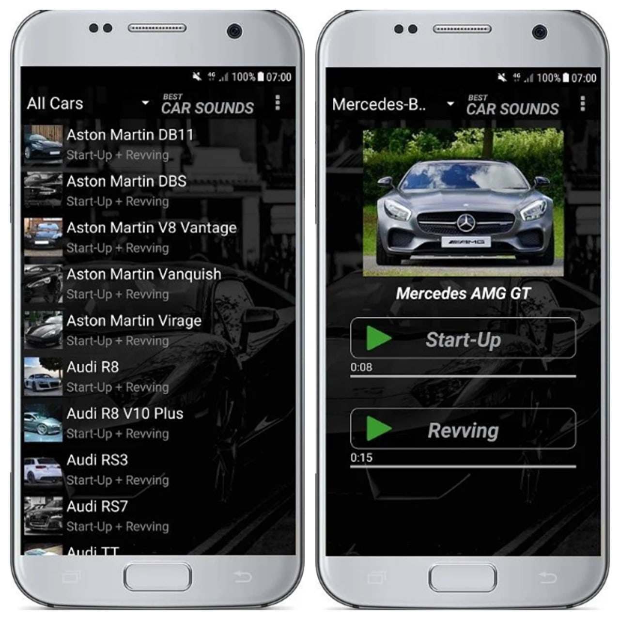 best car sounds app